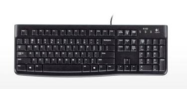罗技(Logitech)K120键盘
