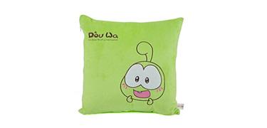 豆娃抱枕(绿色)