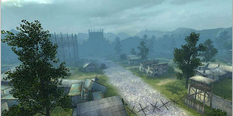 游戏场景-军营