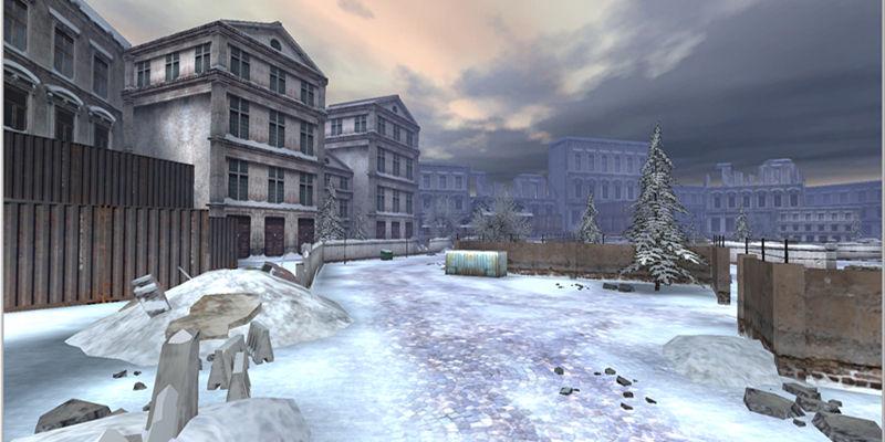 游戏场景-雪国