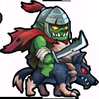 塔防联盟半兽人骑士