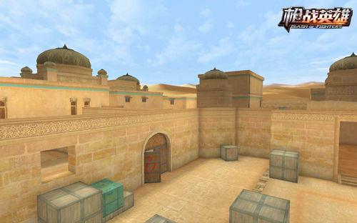 枪战英雄沙漠灰地图2