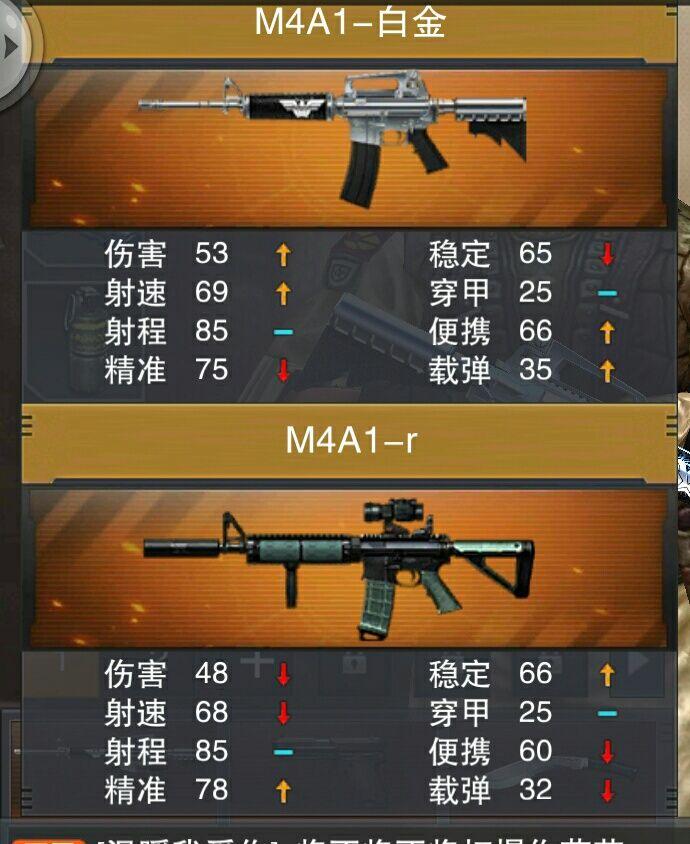 M4A1-白金